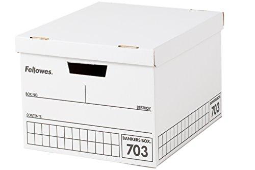RoomClip商品情報 - フェローズ バンカーズボックス 703 A4サイズ 黒 3枚1セット 収納ボックス ふた付き 0970302