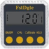 FstDgte デジタルレベル,デジタル角度計 傾斜計 水平器 LCD液晶画面 (アルミニウム合金タイプ)