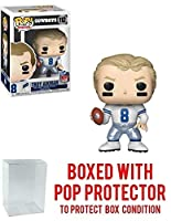 Pop! NFL ダラス・カウボーイズ トロイ・エイクマン #112 ビニールフィギュア ポッププロテクター付き