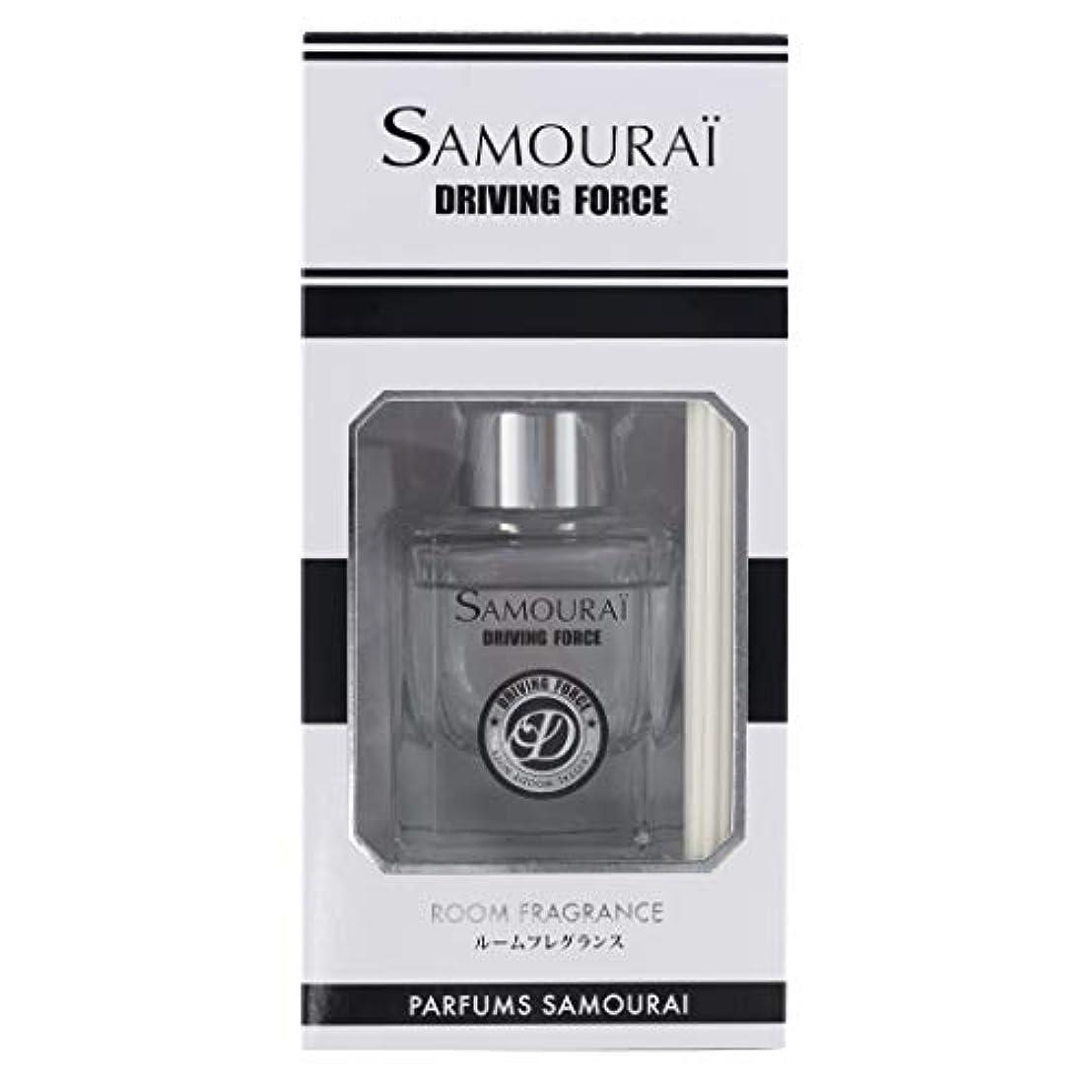 引っ張るブランド抽象サムライ ドライビングフォース ルームフレグランス 60ml 香る男の新定番「サムライ ドライビングフォース」の香り
