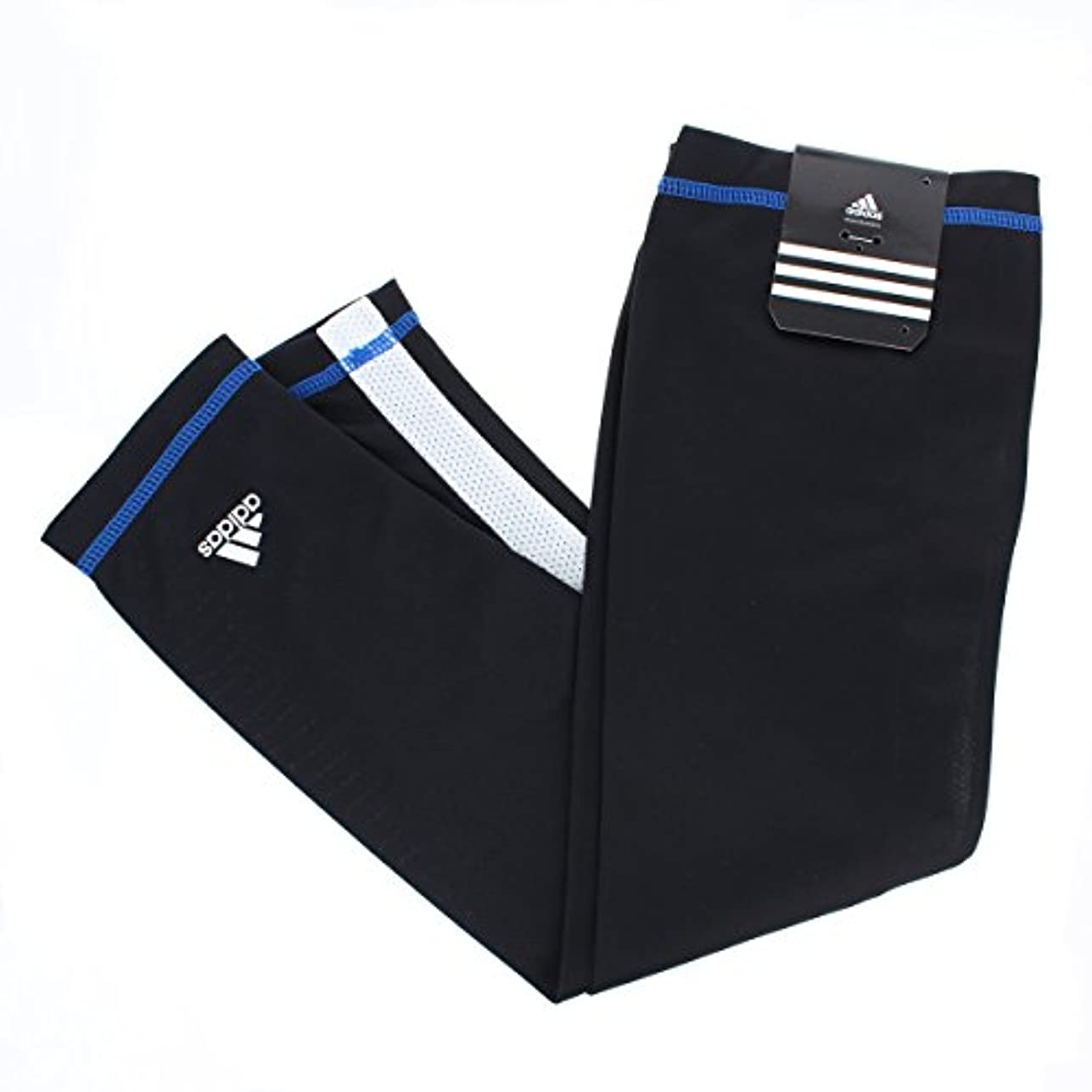 反対にチューインガムほこり(アディダス) adidas UVアームカバー ロング50cm メンズ レディース スポーツ ジョギング ひんやり触感 吸湿 速乾 内側メッシュ UVカット率97% 以上