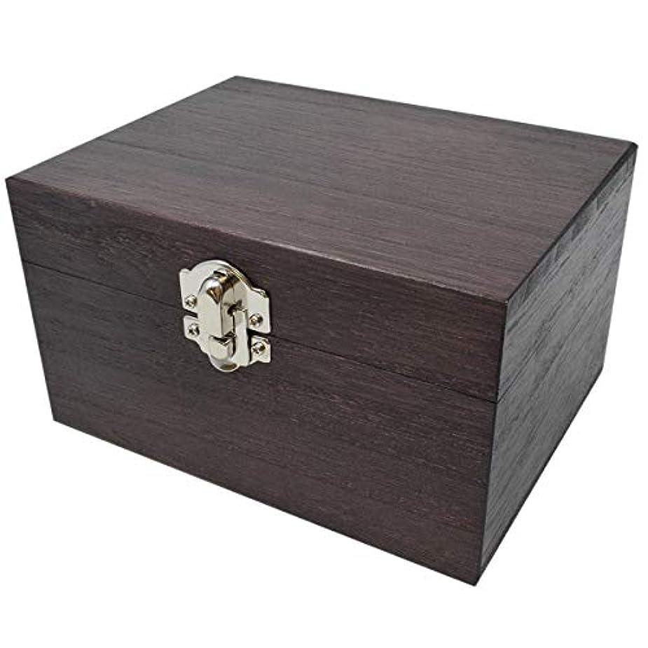 事実番目海軍ケンソー オイルボックス (小) 桐製 12本収納 ※取っ手なし (健草医学舎 オイルボックス)