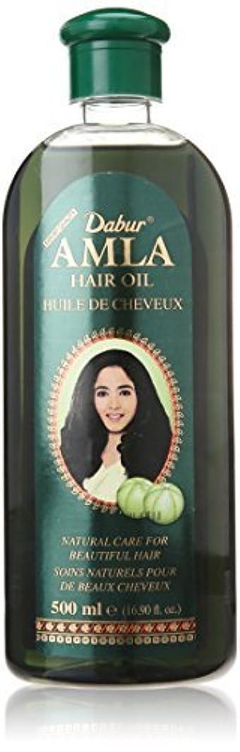 バイパス脚気づかないDabur Amla Hair Oil, 500 ml Bottle [並行輸入品]