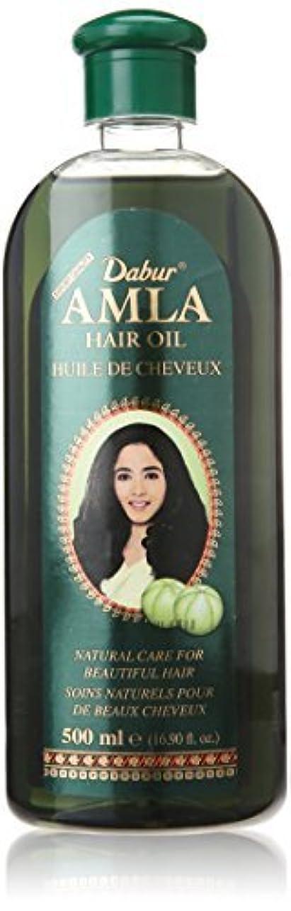 なめらか大陸カウンタDabur Amla Hair Oil, 500 ml Bottle [並行輸入品]