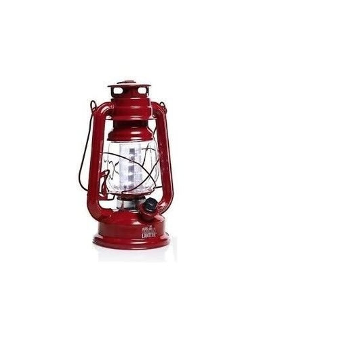 作曲家従事する飛躍Red Olde Brooklyn Lantern LED Light Camping Antique Emergency Bivouac Lamp Tent by heaven_shop