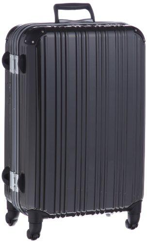 ポリカーボネート製コーナーパッド付きTSAロックスーツケース Mサイズ(65cm) エミネント