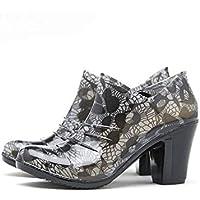 MEIGUIshop Rain Boots - high Heel Waterproof Non-Slip rain Boots Rubber Shoes Single Shoes