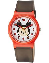 [シチズン キューアンドキュー]CITIZEN Q&Q 腕時計 ディズニー コレクション TSUMTSUM ミッキーマウス ウレタンベルト ブラック HW00-001 ガールズ