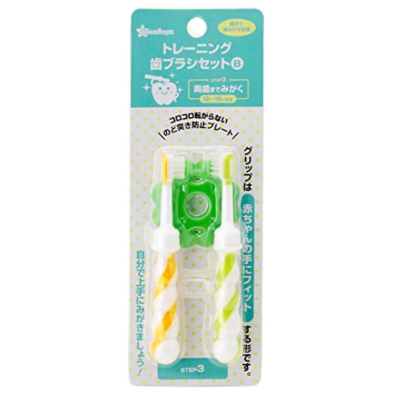 環境ガイダンス恩恵西松屋 SmartAngel)トレーニング歯ブラシ2本セットSTEP3?12~16ヶ月頃