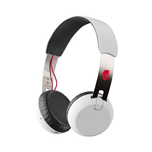 cda66dcc64 Skullcandy Grind Wireless オンイヤー型ワイヤレスヘッドホン Bluetooth対応 WHITE S5GBW-J472【国内正規