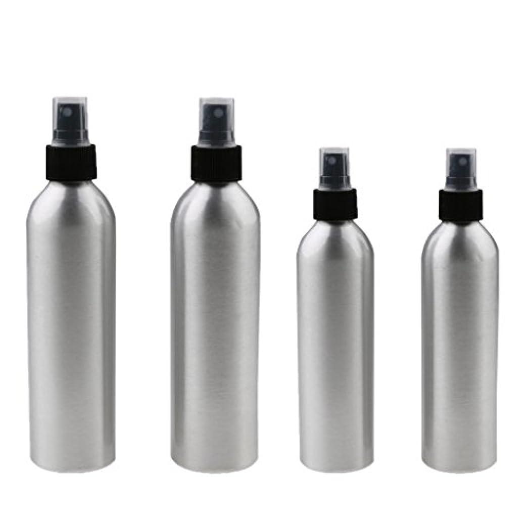 主ウォルターカニンガム植木Kesoto 4本入り スプレーボトル 100mlと150ml各2本 アルミミスト スプレー 香水 ボトル スプレーアトマイザー