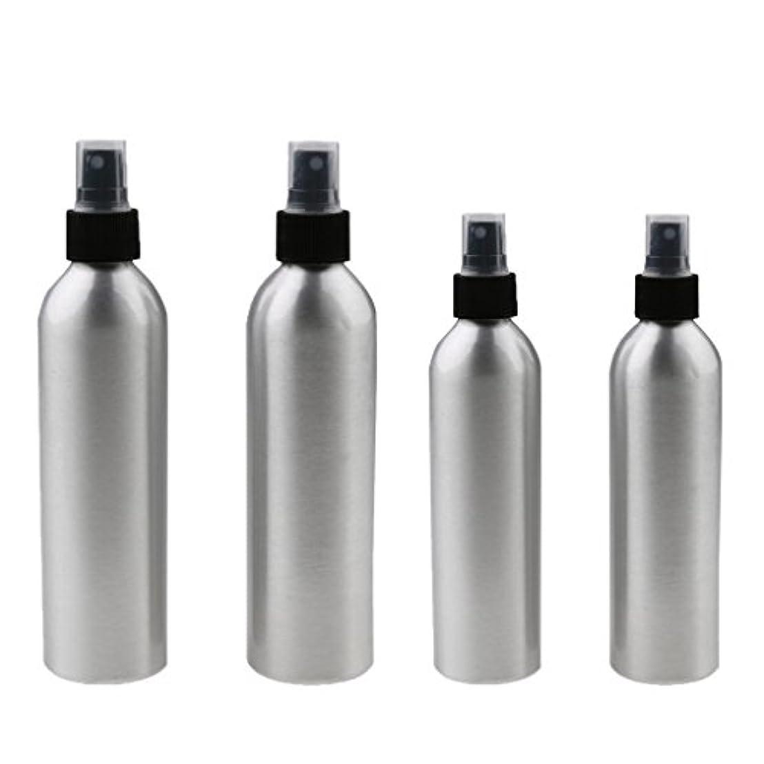 可動式虚偽模倣4本入り スプレーボトル 100mlと150ml各2本 アルミミスト スプレー 香水 ボトル スプレーアトマイザー