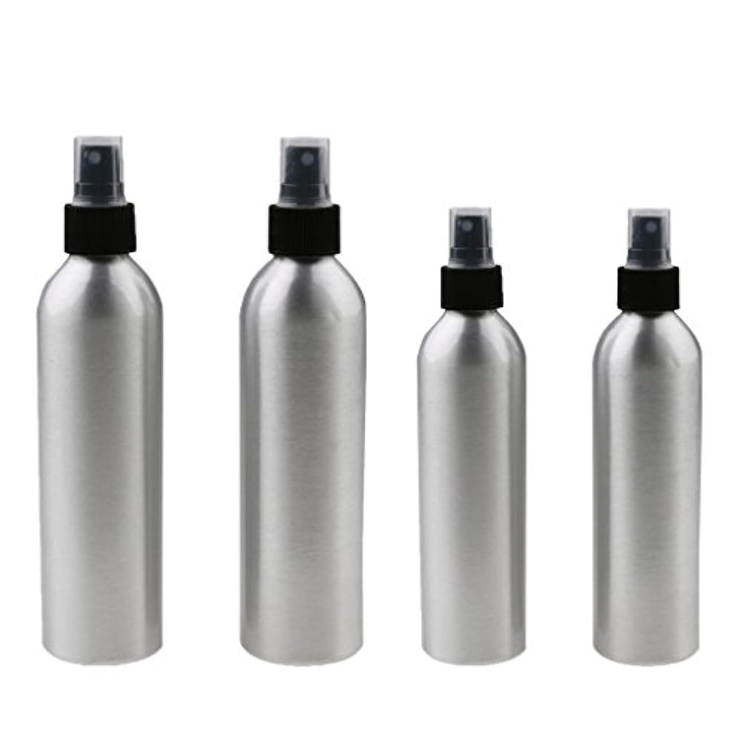 文句を言う女性フレームワークKesoto 4本入り スプレーボトル 100mlと150ml各2本 アルミミスト スプレー 香水 ボトル スプレーアトマイザー