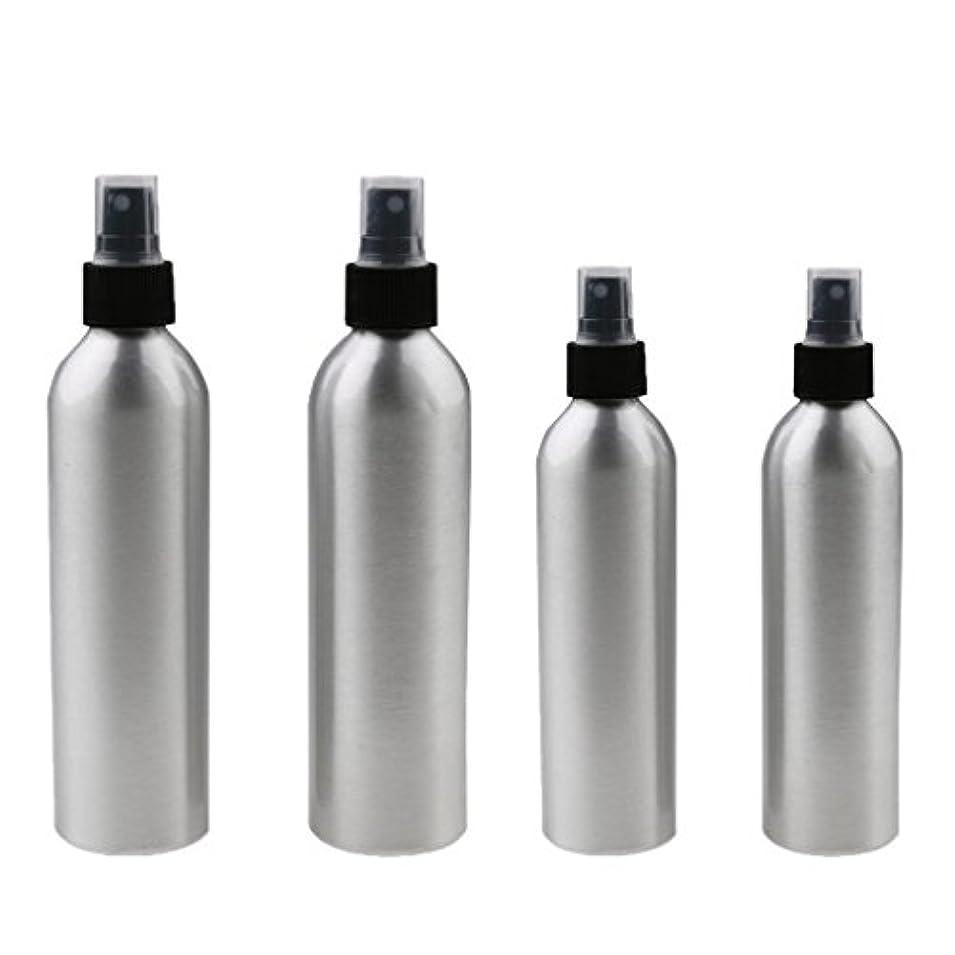 志す大活気づける4本入り スプレーボトル 100mlと150ml各2本 アルミミスト スプレー 香水 ボトル スプレーアトマイザー