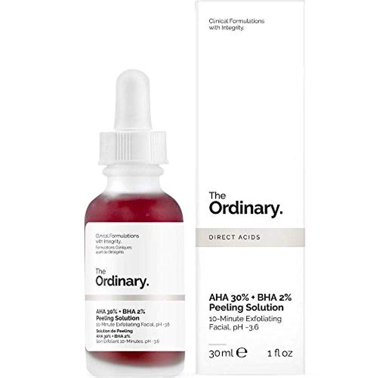 ペット脊椎通知するThe Ordinary AHA 30% + BHA 2% Peeling Solution 30ml