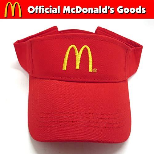 McDonald's SUN VISOR【マクドナルド サン バイザー】RED