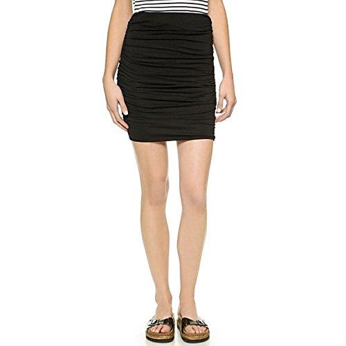 (スリードッツ) Three Dots レディース スカート ミニスカート Three Dots Ruched Miniskirt 並行輸入品