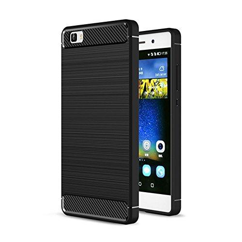 Ceavis Huawei P8 lite ケース LUMIERE 503HW ケース (ブラック)