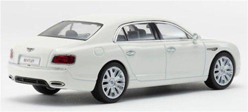 京商オリジナル 1/43 ベントレー コンチネンタル フライングスパー W12 (グラシアルホワイト)