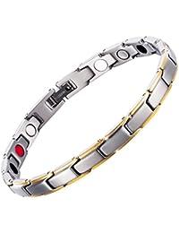 ゲルマニウム ブレスレット高純度テラヘルツ健康 開運 パワーストーン 磁気ブレスレット 腕輪数珠 メンズ 抗疲労 睡眠改善