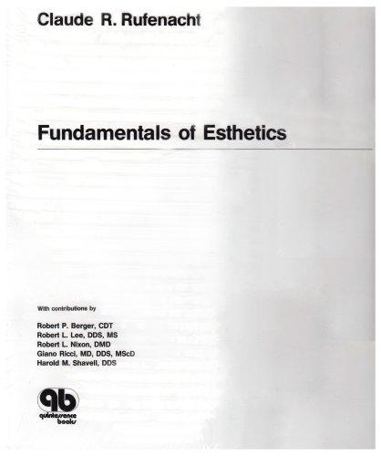 Download Fundamentals of Esthetics 0867152303