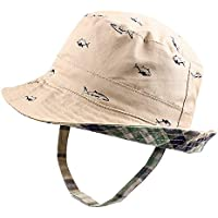 JANGANNSA Classic Baby Boys Hat Caps Cotton Toddler Kids Sun Hat for Boys Spring Summer (0-4Y)