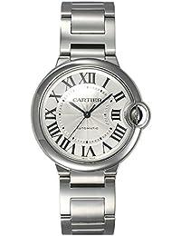 (カルティエ) CARTIER 腕時計 バロンブルー MM W6920046 シルバー 36mm ボーイズ [並行輸入品]