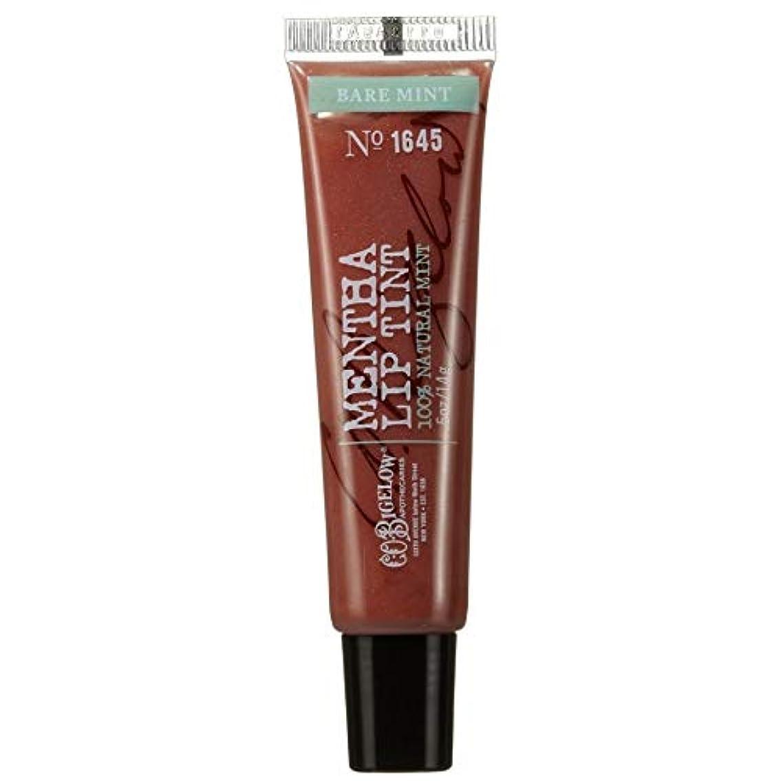 ぴったり一口名声[C.O. Bigelow] C.O.ビゲロー裸ミントハッカシマーリップティント - C.O. Bigelow Bare Mint Mentha Shimmer Lip Tint [並行輸入品]