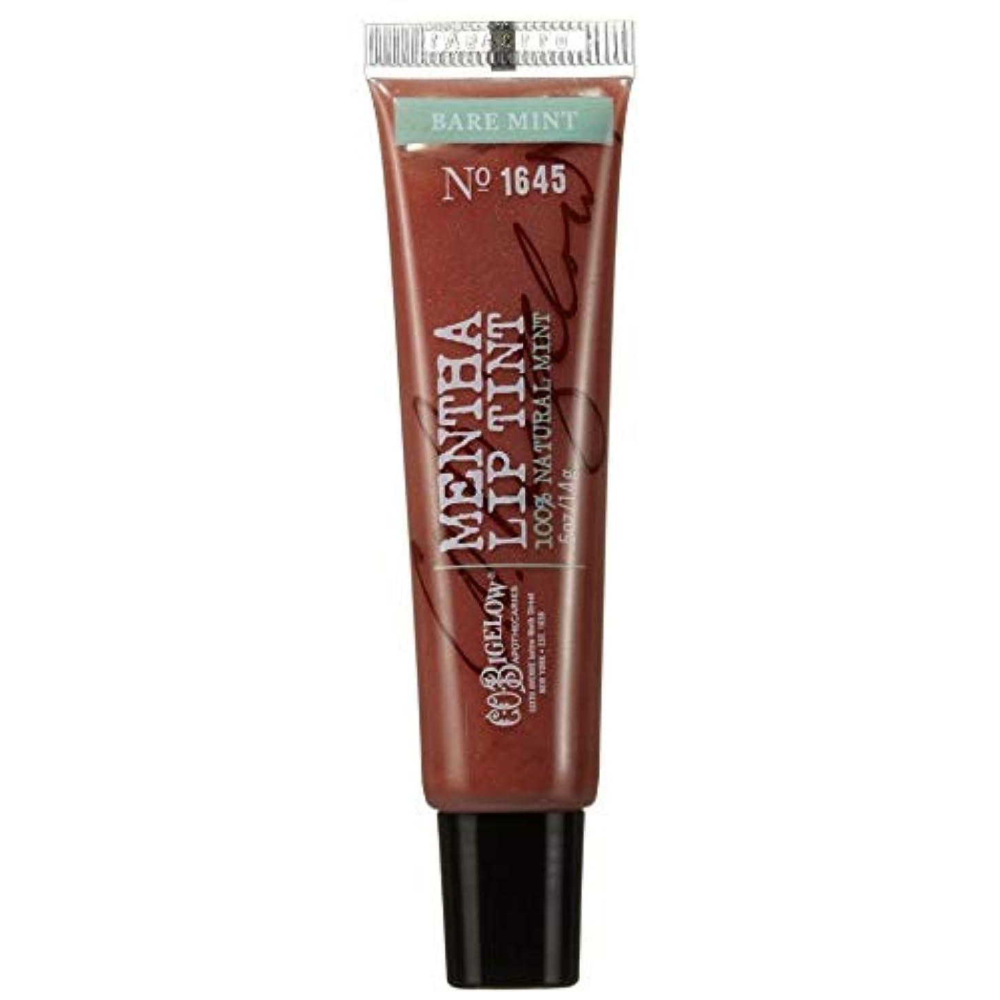 キャンパストレーニング懲戒[C.O. Bigelow] C.O.ビゲロー裸ミントハッカシマーリップティント - C.O. Bigelow Bare Mint Mentha Shimmer Lip Tint [並行輸入品]