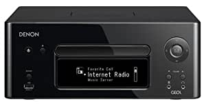 DENON CEOL ネットワークCDレシーバー AirPlay/ハイレゾ音源対応 ブラック RCD-N8K