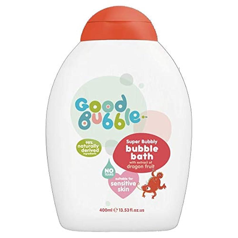 中央値仕える協会Good Bubble - Bubble Bath - Super Bubbly with Dragon Fruit Extract - 400ml