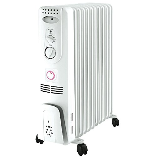 ΛzICHI オイルヒーター 24時間タイマー 自動温度調節...