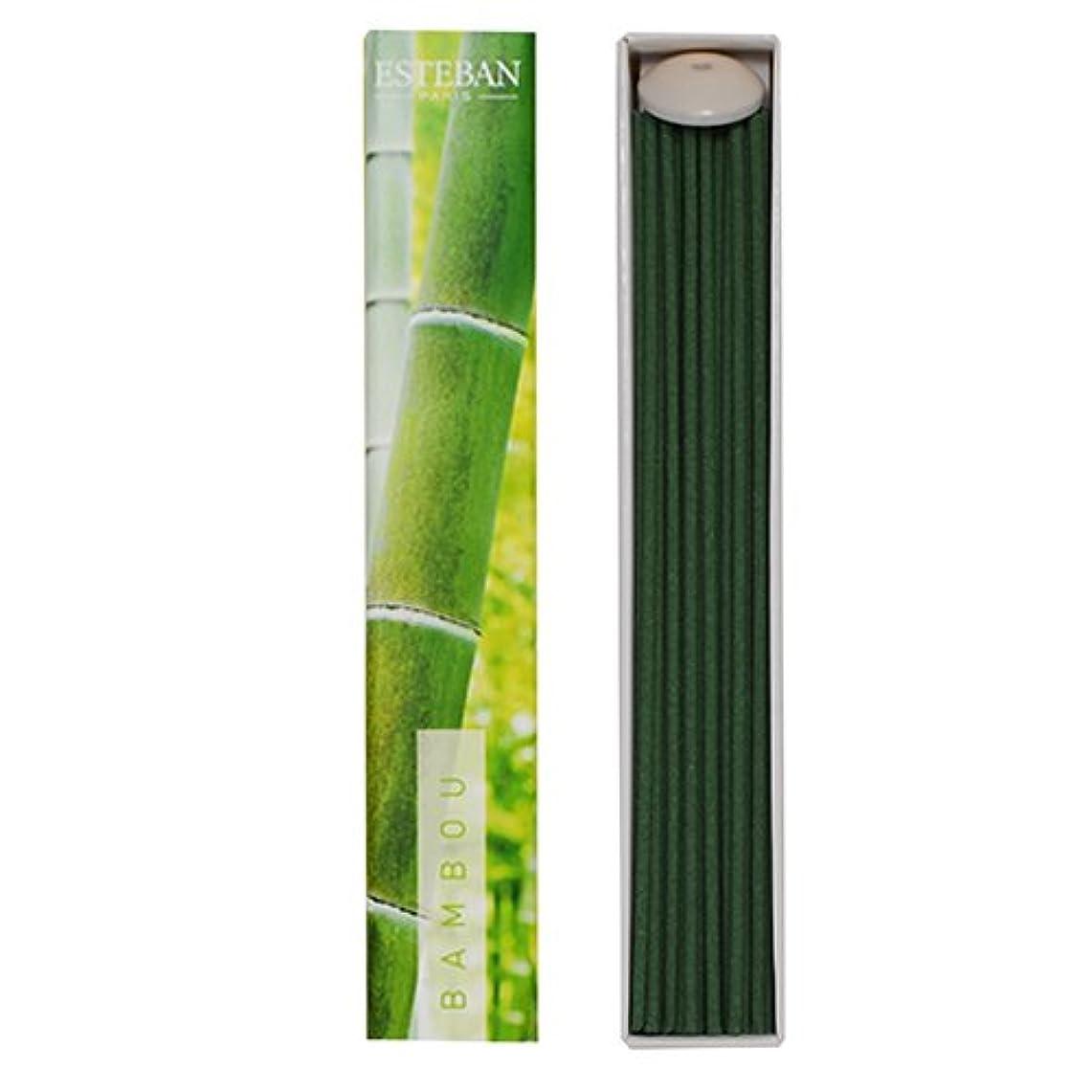 刻む青ホイッスルエステバンのお香 エスプリドナチュール バンブー(竹)スティック