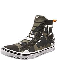 (ディーゼル) DIESEL ユニセックス コンフォータブル スリッポンスニーカー ハイカット DIESEL IMAGINEE S-DIESEL MAGINEE MID SLIP-ON - sneaker mid Y01699P1640