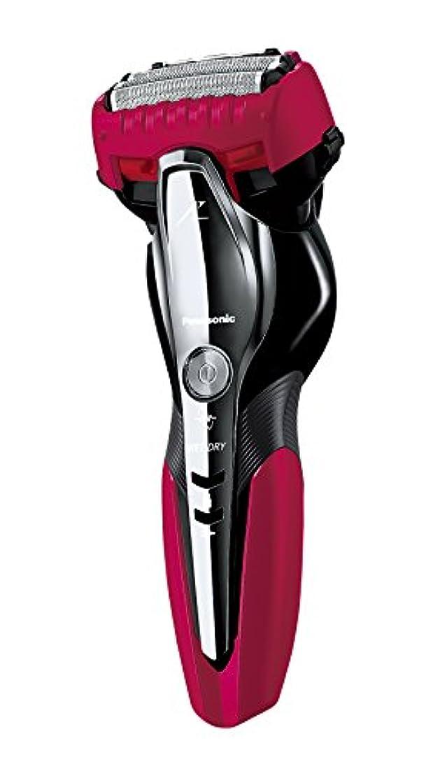 悲しむ検索エンジンマーケティング抹消パナソニック ラムダッシュ メンズシェーバー 3枚刃 お風呂剃り可 赤 ES-ST8P-R