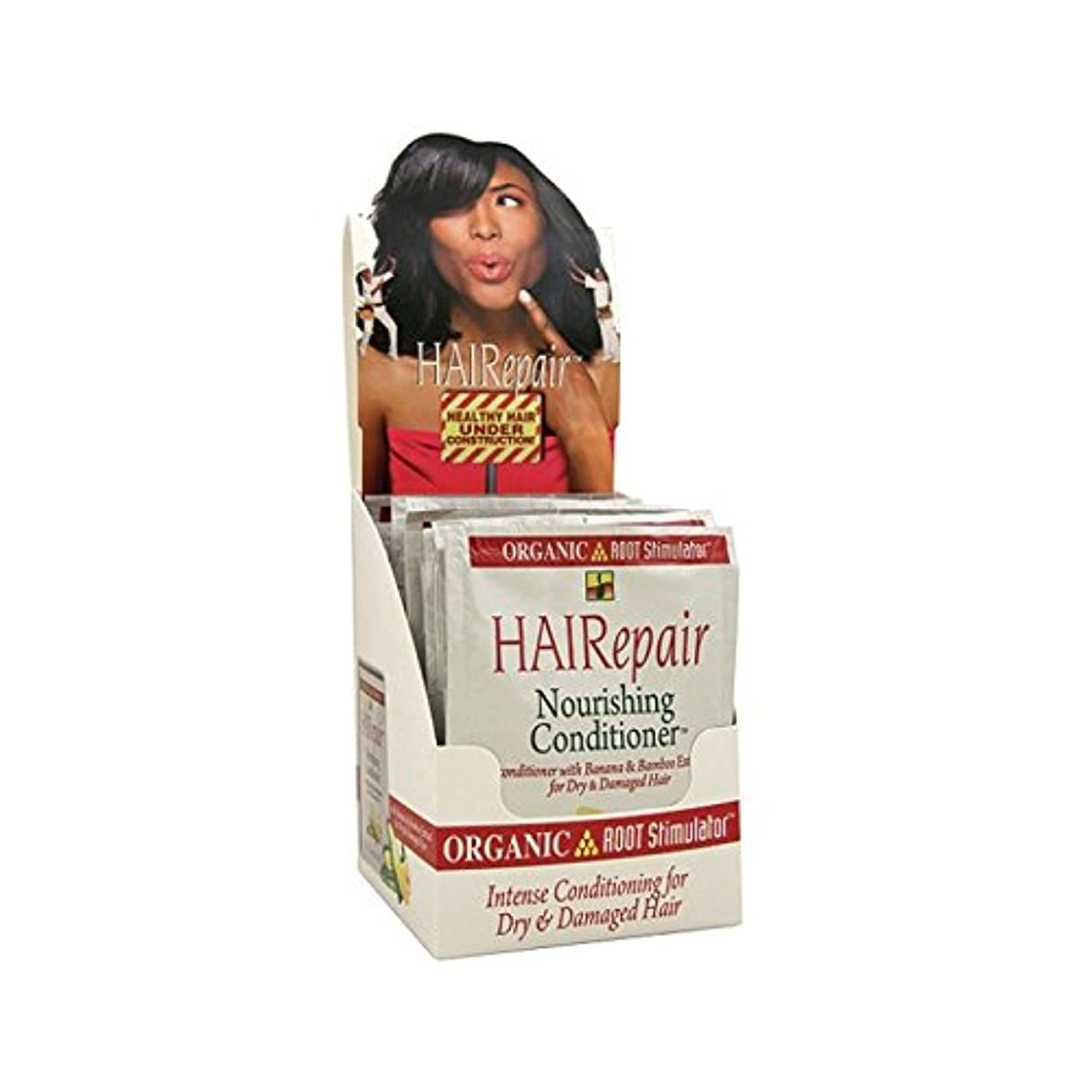 通訳均等に時間とともにOrganic Root Hairepair Nourish Conditioner 50 ml (Pack Of 12) (並行輸入品)