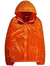 maweisong メンズマウンテンハイキングウィンドブレーカーライトアウトドアフードジャケット