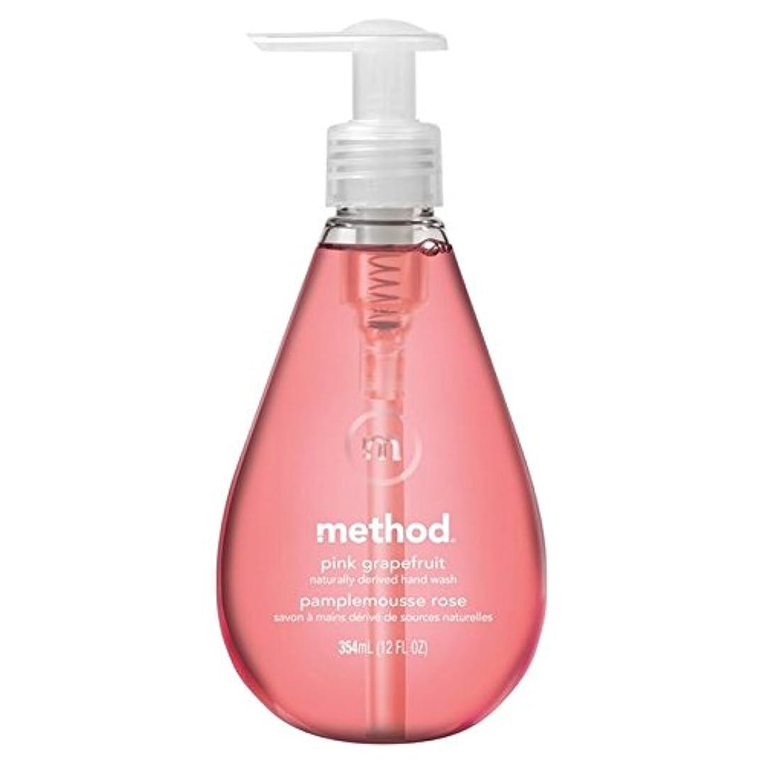 雇う提案するほこりMethod Pink Grapefruit Handsoap 354ml - メソッドピンクグレープフルーツの354ミリリットル [並行輸入品]
