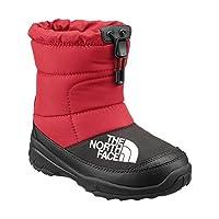[ザ ノースフェイス] ヌプシブーティー V NFJ51881 ブーツ スニーカー シューズ (キッズ ベビー) 20cm Red-Black(RK)