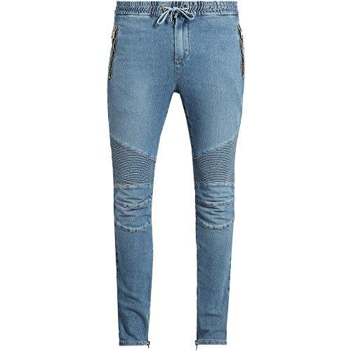 (バルマン) Balmain メンズ ボトムス・パンツ スウェット・ジャージ Biker denim track pants 並行輸入品