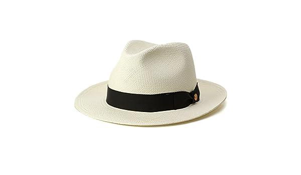 e3a5c610575e9 Amazon | ハット メンズ ハット 帽子 パナマ帽 ワイドブリムパナマハット MAYSER マイザー/ホワイト/ブリーチ (57) (62) |  ハット 通販