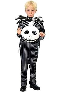 ディズニー ジャック ナイトメア クリスマス キッズコスチューム 男女共用 100cm-120cm