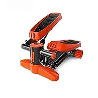 油圧抵抗の空気ステッパーの調節可能なねじれのステッパー 低衝撃好気性マイクロステッピングとディスプレイ (色 : オレンジ, サイズ : Casual size)