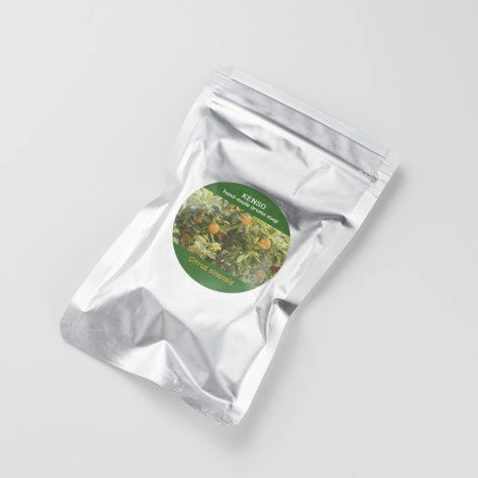 注入フルーティーパンケンソー アロマグリセリンソープ オレンジソープ 石鹸 50g