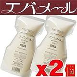 【2個】エバメールゲルクリーム500gレフィル(Sタイプ詰替用)×2個セット (4571262440102)