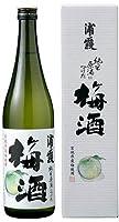 浦霞(宮城県・塩竈)、純米原酒につけた梅酒 720ml/1本箱入り