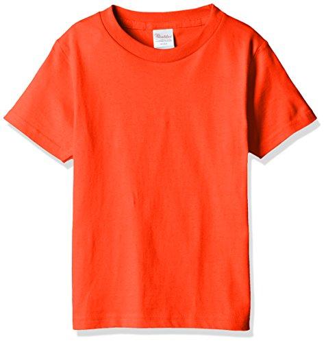 半袖 5.6オンス へヴィー ウェイト Tシャツ 00085-CVT キッズ ディープオレンジ 日本サイズ 110cm