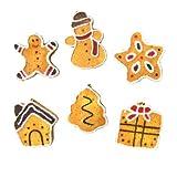 【クリスマス景品】クッキーオーナメント(12個)  / お楽しみグッズ(紙風船)付きセット