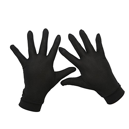Tenn Well シルク手袋, 天然絹100% 手荒れ対策...
