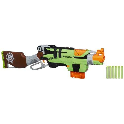 [해외]Nerf Zombie Strike SlingFire 좀비 스트라이크 블래스터 포인트 병행 수입품/Nerf Zombie Strike SlingFire zombie strike blaster point parallel import goods